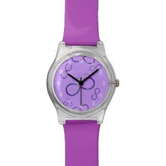 Reloj lindo femenino del símbolo el | del infinito