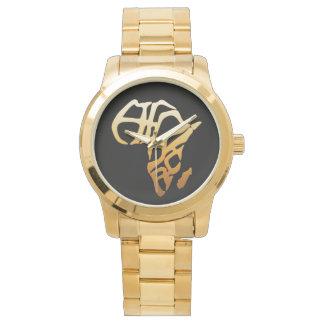 Reloj Logotipo Handwatch unisex de Afrika
