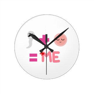 Reloj (medio) redondo del proceso de nacimiento