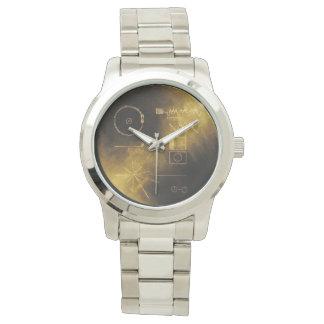 Reloj Mensaje de oro del viajero
