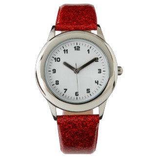 Reloj minimalista del brillo