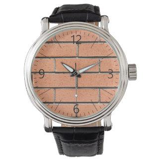 Reloj Modelo de la pared de ladrillo