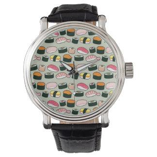 Reloj Modelo de los ejemplos de la diversión del sushi
