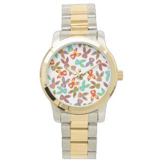 Reloj Modelo psico de Pascua colorido