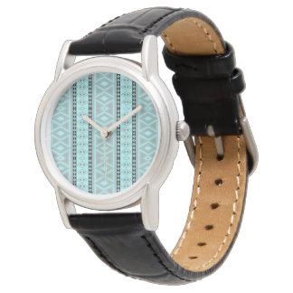 Reloj Modelo tribal de lujo de la frontera