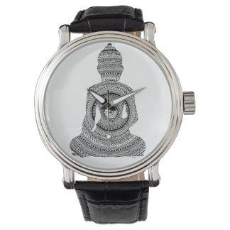 Reloj Muestre a Buda GraphiZen