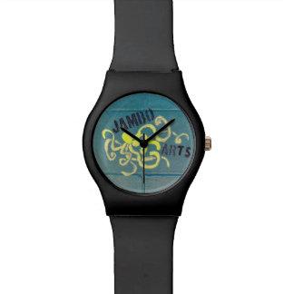 Reloj mural del pulpo de los artes de Jambo