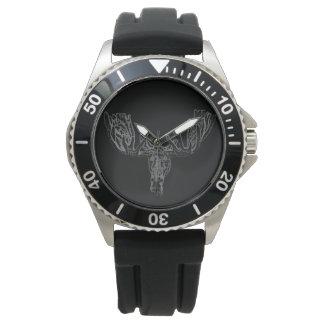 """Reloj Negro de los """"alces"""". Colección privada"""