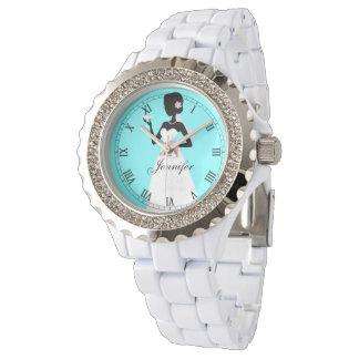 Reloj Novia, criada del honor, o dama de honor