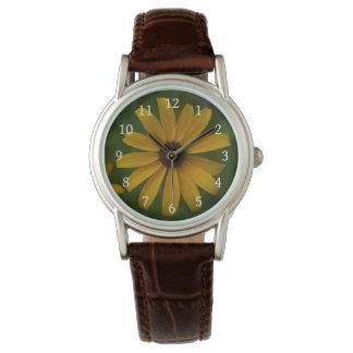 Reloj observado negro de Susan