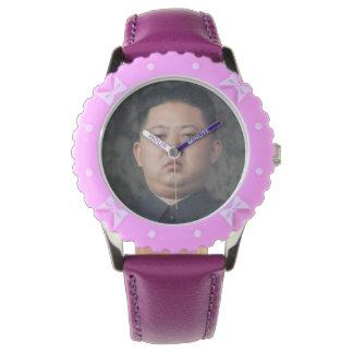 reloj oficial de la O.N.U del jong de kim
