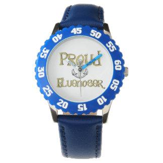 Reloj orgulloso del ancla de Bluenoser Nueva