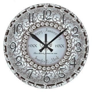 Reloj ornamental del aniversario