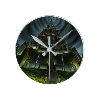 Reloj oscuro de la torre