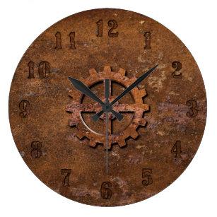 Reloj oxidado de Steampunk