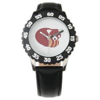 Reloj Panda roja
