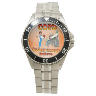 Reloj para hombre del copd con números