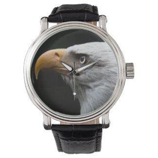 Reloj para hombre del retrato de Eagle