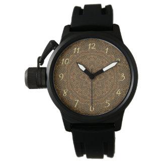 Reloj para hombre del vintage de encargo del