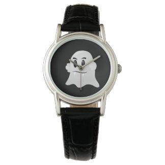Reloj para mujer del fantasma de Halloween
