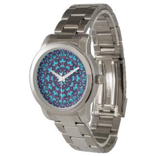 Reloj para mujer del gaitero del caleidoscopio