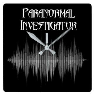 Reloj paranormal de Soundwave del investigador