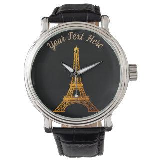 Reloj París: Viaje Eiffel del La