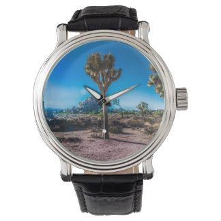 Reloj Parque nacional California de la yuca