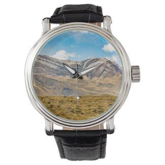 Reloj Patagonia la Argentina de las montañas Nevado los