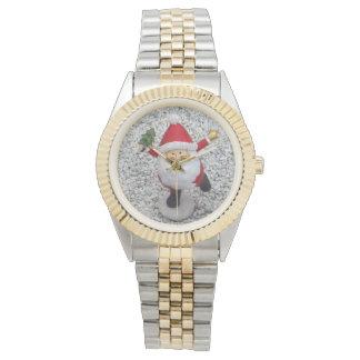 Reloj Pequeño Santa lindo