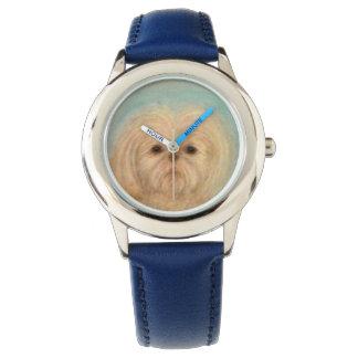 Reloj perrito, perro, perritos, tzu de shih, animal,