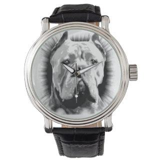 Reloj Perro de Corso del bastón