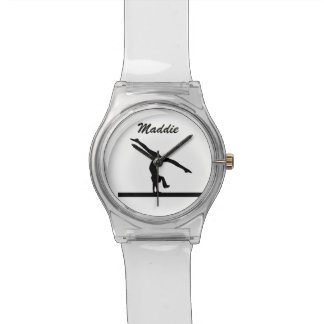 """Reloj personalizado de la """"gimnasia"""""""