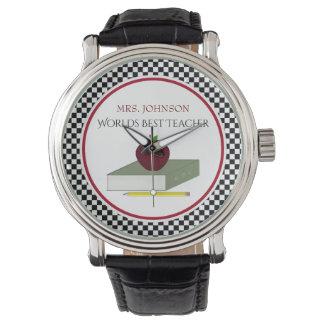 Reloj personalizado de los profesores