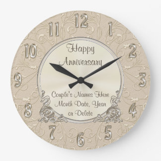 Reloj PERSONALIZADO hermoso del aniversario