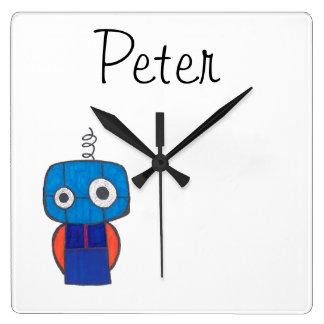 Reloj personalizado para los niños - tema del