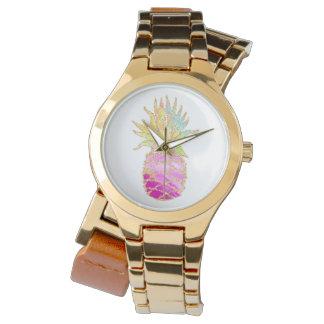 Reloj Piña rosada