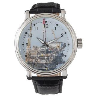 Reloj Plataforma petrolera