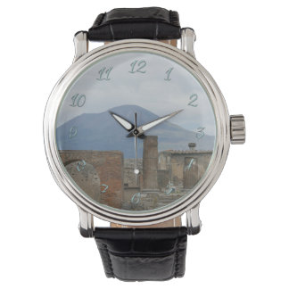 Reloj Pompeya-Vesuvio