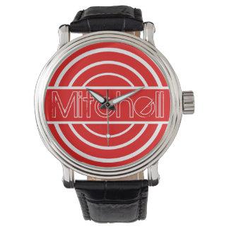 Reloj Rangetop rojo personalizado