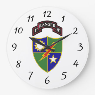 Reloj Redondo Grande 1r batallón - 75.o regimiento de guardabosques -