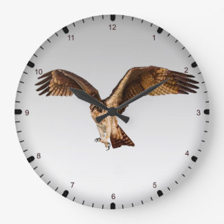 Reloj Redondo Grande Águila de pescados