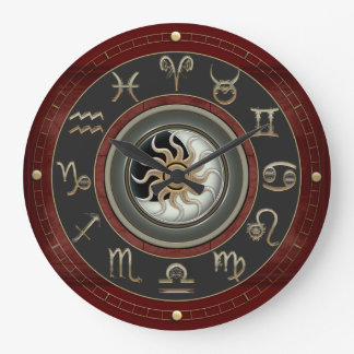 Reloj Redondo Grande Astrología