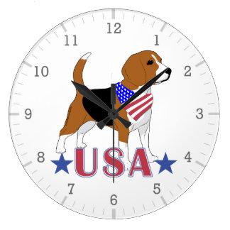 Reloj Redondo Grande Beagles: Los E.E.U.U. protagonizan el beagle