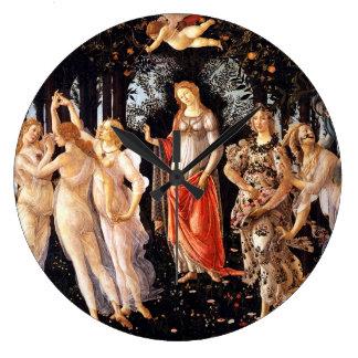 Reloj Redondo Grande BOTTICELLI - Primavera 1482