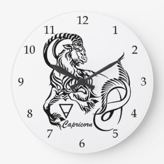 Reloj Redondo Grande Capricornio