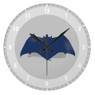 Reloj Redondo Grande Cepillo de la liga de justicia el | y símbolo de
