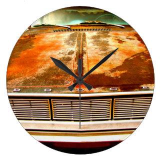 Reloj Redondo Grande Coche de Dodge