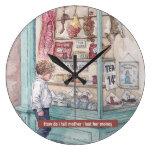 Reloj Redondo Grande ¿Cómo le digo a mi madre que perdí su dinero?