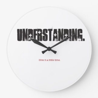 Reloj Redondo Grande Comprensión